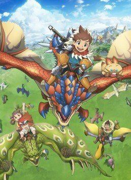 Monster Hunter Stories: Ride On Poster