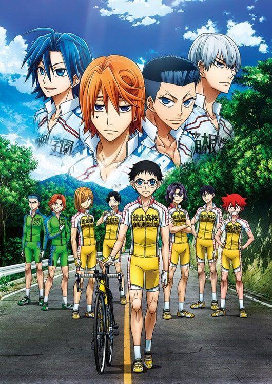 Yowamushi Pedal New Generation Poster