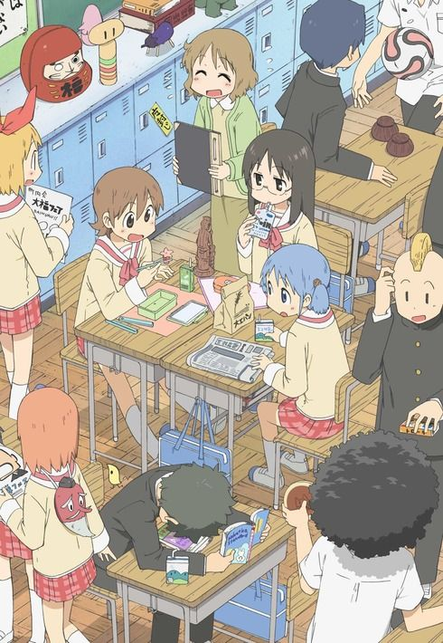 Nichijou Poster