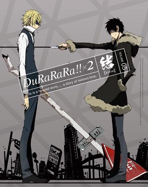 Durarara!!x2 Ketsu Poster