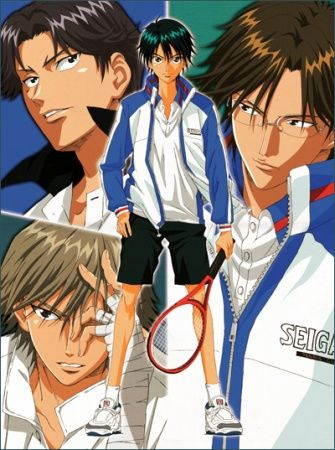 Prince of Tennis: The National Tournament Poster