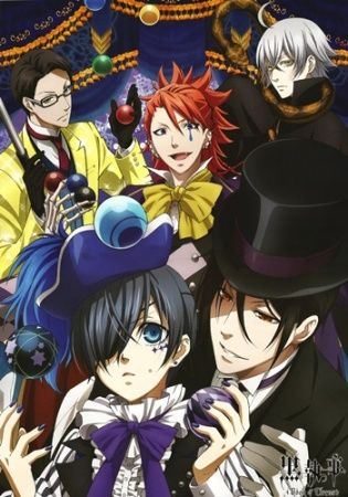 Kuroshitsuji: Book of Circus (Season 3) Poster