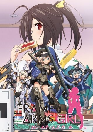 Frame Arms Girl Poster