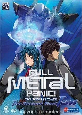 Full Metal Panic! The Second Raid Poster