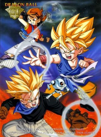 Dragon Ball GT Poster