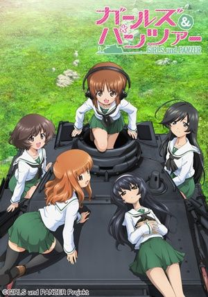 Girls und Panzer Specials Poster