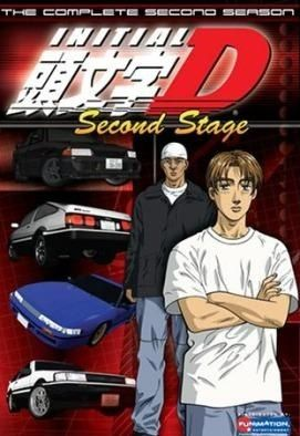 Initial D Second Stage Poster