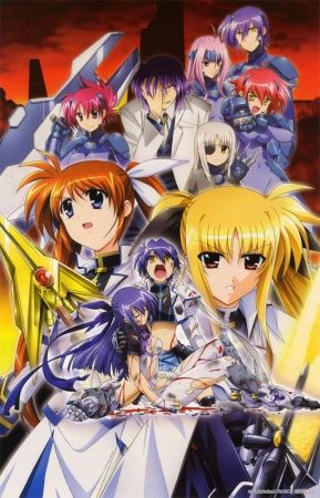 Mahou Shoujo Lyrical Nanoha StrikerS Poster