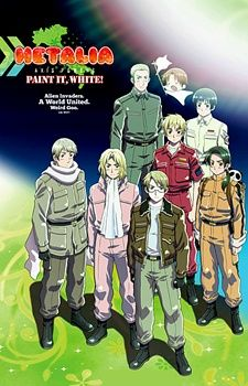 Hetalia Axis Powers Movie: Paint it, White Poster