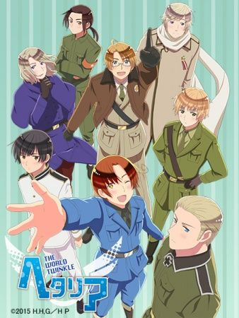 Hetalia: The World Twinkle Poster