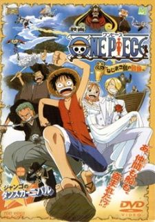 One Piece Movie 2: Nejimaki-jima no Daibouken Poster