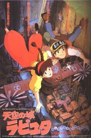 Tenkuu no Shiro Laputa Poster