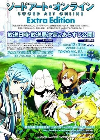 Sword Art Online: Extra Edition Poster
