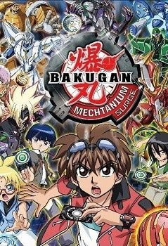 Bakugan Battle Brawlers: Mechtanium Surge Poster
