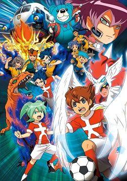 Inazuma Eleven Go: Chrono Stone Poster