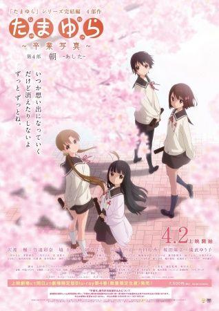Tamayura: Sotsugyou Shashin Part 4 – Ashita Poster