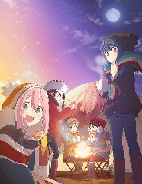 Yuru Camp Poster