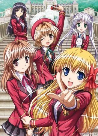 Fortune Arterial: Akai Yakusoku Poster