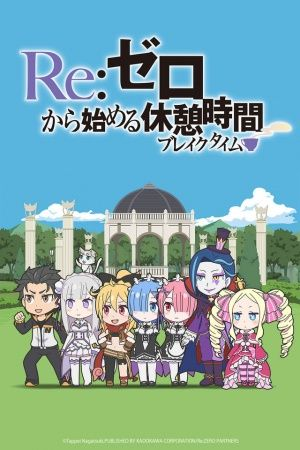 Re:Zero kara Hajimeru Break Time Poster