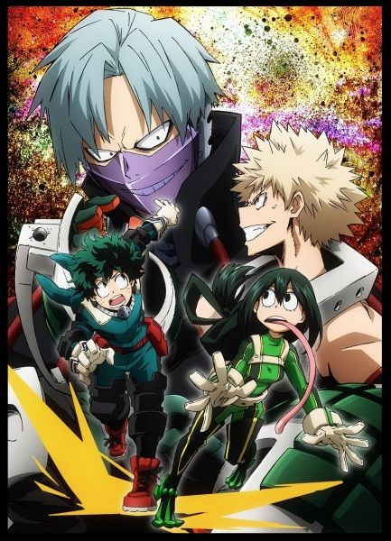 Boku no Hero Academia: Training of the Dead Poster