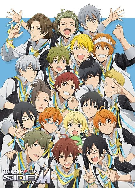 The iDOLM@STER SideM Poster