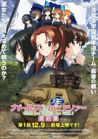 Girls und Panzer das Finale Poster