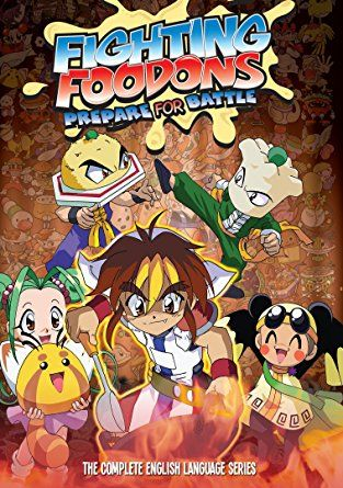 Fighting Foodons (DUB) Poster