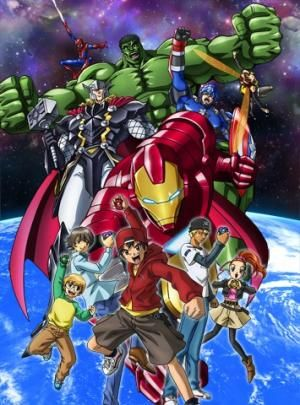 Marvel Disk Wars: The Avengers Poster