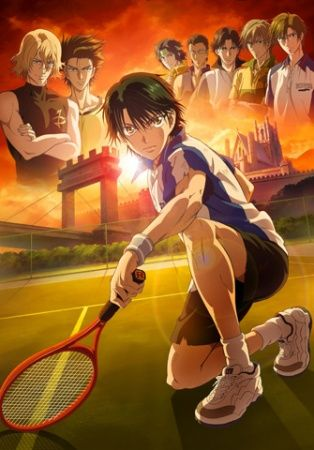 Tennis no Ouji-sama Movie 2: Eikokushiki Teikyuu Shiro Kessen! Poster