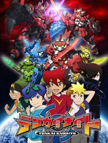 Tenkai Knights (DUB) Poster