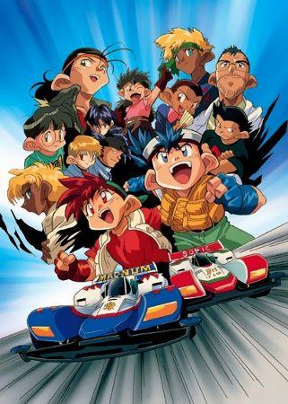 Bakusou Kyoudai Let's & Go Poster