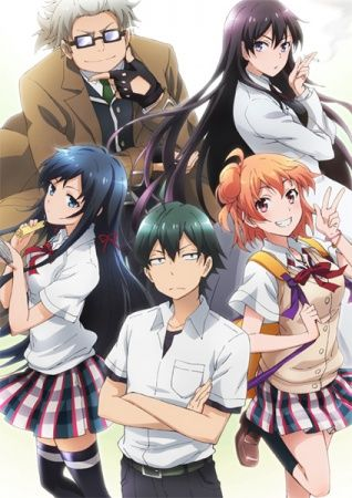 Yahari Ore no Seishun Love Comedy wa Machigatteiru. OVA Poster