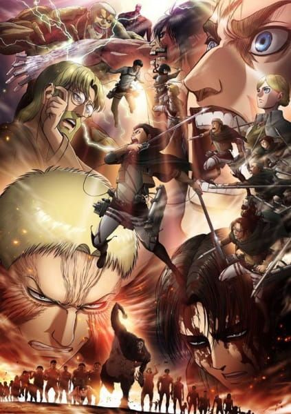 Shingeki no Kyojin (Season 3) Poster