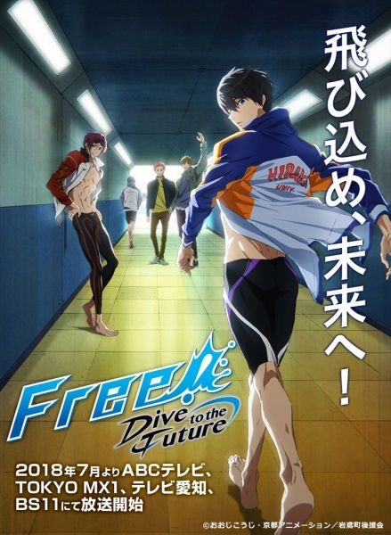 Free!: Dive to the Future Poster
