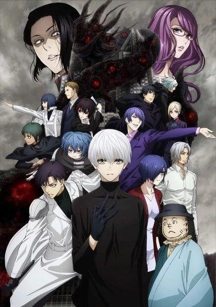 Tokyo Ghoul:re (Season 2) Poster