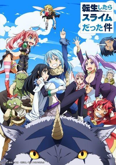 Tensei shitara Slime Datta Ken Poster