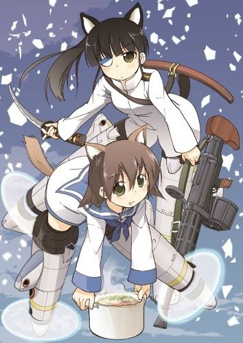 Strike Witches: 501 Butai Hasshin Shimasu! Poster
