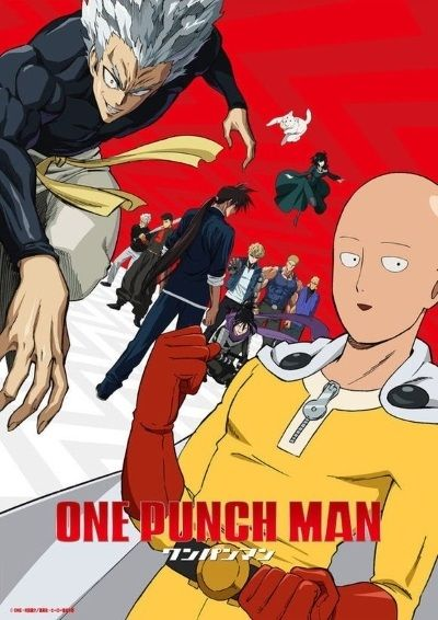 One Punch Man (Season 2) Poster